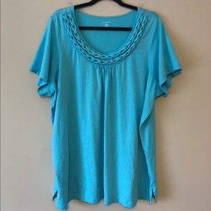 Lands End Turquoise T-Shirt